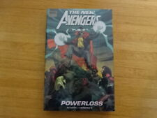 Rare Copy Of The New Avengers: Powerloss Hard Cover Graphic Novel! Marvel!