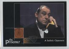 2002 Cards Inc The Prisoner Autograph Series #28 A Sadistic Opponent Card 0f8