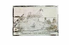Danbury Mint 1977 Crossing the Delaware 750 grain bar in sterling silver