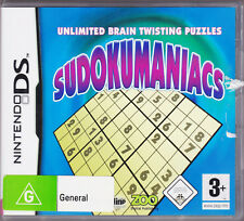 Sudokumaniacs - Nintendo DS Game with Booklet
