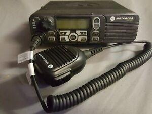 Motorola DM3601 UHF-430mhz to 512mhz 5watts to 48watts/ bracket+power lead+ mic