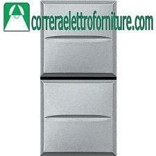 BTICINO AXOLUTE tech doppio pulsante HC4036