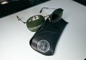 Ray-Ban (RB3447) Round Metal - Polarised - Matte Gunmetal Sunglasses