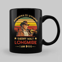 Sheriff Walt Longmire I Am 9-1-1 Vintage Retro Funny Coffee Mug Tea Cup