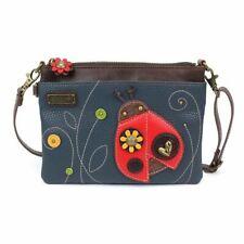 CHALA Lady Bug Mini Crossbody Purse, Ladybug Handbag Adjustable Straps