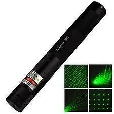 New RECHARGEABLE HIGH POWER GREEN LASER POINTER BEAM WITH STYLISH DISCO LIGHT