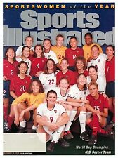December 20, 1999 U.S. Women's National Soccer Team SOY Sports Illustrated