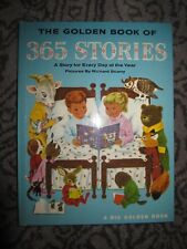Vtg HC book, The Golden Book of 365 Stories, pictures by Richard Scarry, 1968