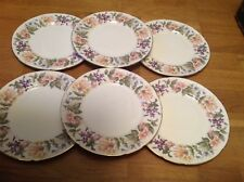 Paragon Country Lane Pattern ( 6 Luncheon Plates 23cm 1st Quality )