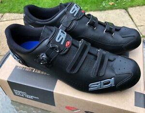 Sidi Alba 2 Road Shoes (Black - EU Size 47)