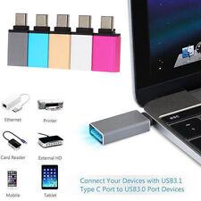 1pc OTG USB 3.0 Female to USB 3.1 Type C Male Converter USB-C Adapter Aluminium