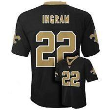993ac23e2 Boys Youth New Orleans Saints NFL Jersey Mark Ingram