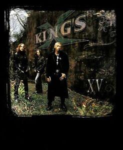 KINGS X cd cvr XV Official SHIRT XL New first church of rock n' roll OOP
