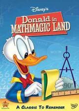 WALT DISNEY MINI CLASSICS - DONALD IN MATHMAGIC LAND NEW DVD