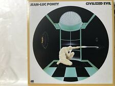 Limited Rare CD sleeve JEAN-LUC PONTY Civilized Evil DEMAGOMANIA Happy Robots