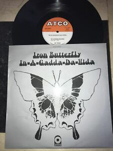Iron Butterfly In-a-gadda-da-vida Vinyl Record