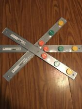 """IKEA 22"""" Magnetic Steel Bar Rack Stainless Arts Crafts Storage Lot Kids Room 3pc"""