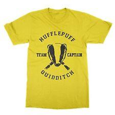 Hufflepuff Quidditch Team Captain unisex t-shirt Harry Potter present nerd gift