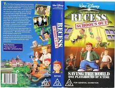 DISNEY -  RECESS: SCHOOL'S OUT  *RARE VHS TAPE*