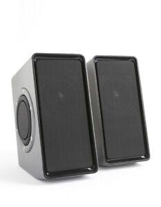 PHONOCAR 02106 ALTOPARLANTI IN BOX AMPLIFICATO 2X10 WATT MAX PER CELLULARI E PC