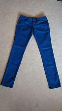 Volcom blue sound check super skinny jeans size 5 style B1931307 RN 429745