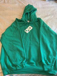 Domino's Pizza hoodie green 3XL XXXL