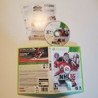 NHL 14 - Xbox 360 - B+ Condition - Complete - Tested