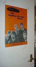 Rolling Stones Memorabilia Programmes
