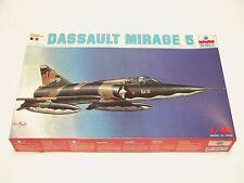 1/48 ESCI ERTL Dassault Delta MIRAGE III 5 Scale Plastic Model Kit Complete E