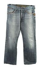 Vintage G-Star Core Regular Jeans Cintura Alta Unisex W31 L32 Azul Oscuro-J444...