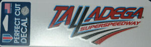 "Talladega Superspeedway 3"" x 10"" Decal NASCAR Dega Official"