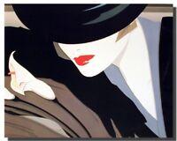 Mystique Nick Georgiou Vogue Exotic Lady Wall Decor Art Print Poster (16x20)