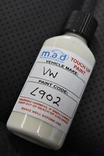 VW AUDI GREY WHITE R902 L902 TOUCH UP KIT BOTTLE BRUSH REPAIR PAINT SCRATCH