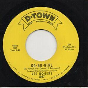 NORTHERN SOUL - LEE ROGERS - GO-GO GIRL - D-TOWN RECORDS - US - 1966