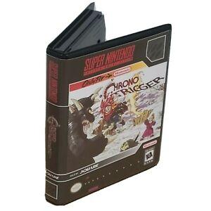 Chrono Trigger Super Nintendo SNES Cartridge CASE ONLY Protector Box NO GAME