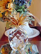 Vintage Swarovski Crystal Largest Pineapple Made(1982-2008 ) *7507 Nr 260 000*
