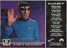 TC Star Trek Star Trek Orginial Series Season 3 Gold Plaque Card G62