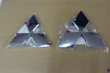Set Front + Rear LOGO EMBLEM GENUINE FOR MITSUBISHI TRITON L200 2006 2008 2014