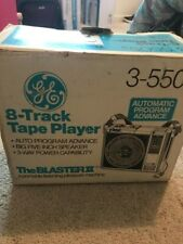 Brand New G.E. 8-track tape player