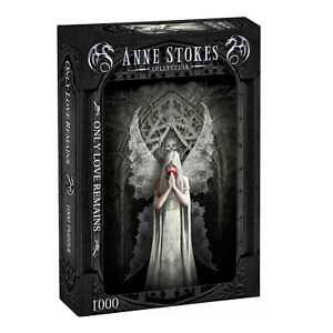 Anne Stokes - ONLY LOVE REMAINS - 1000 Piece Jigsaw Puzzle, Goth, Romantic