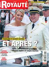 Mariage Albert Charlene Monaco_Kate Middleton_Pippa_Letizia_Harry ROYAUTE 07/11