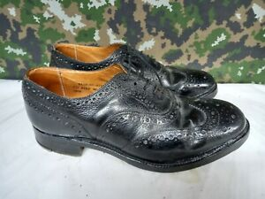 British Army Military Highland Issue Service Dress Shoes Brogues / Blakeys - 9 M
