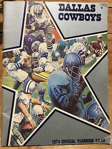 1974 DALLAS COWBOYS Yearbook *Rare*