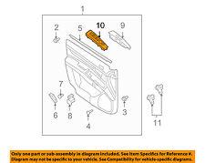 Genuine Hyundai 93410-4Z010 Lighting and Turn Signal Switch Assembly