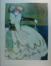 Pablo Picasso Femme en bleu Kunstdruck G-5671