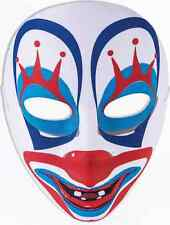 Happy Clown Mask Face Scary Evil Killer Fancy Dress Halloween Costume Accessory