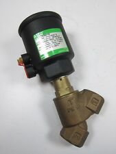 New Asco E290B010 Bronze Pressure Reducing Valve NC Joucomatic G1""