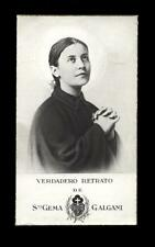"santino-holy card""S.GEMMA GALGANI 16"