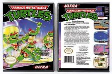 Teenage Mutant Ninja Turtles 1 - Nintendo NES Custom Case - *NO GAME*
