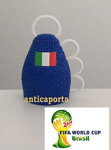 Huit 8 Caxirola Brazil Monde 2014 Azzurri Italie Brasil Italie avec fanion